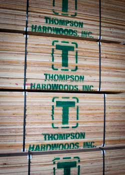 Thompson Hardwoods is one of the nation's largest lumber sawmills.